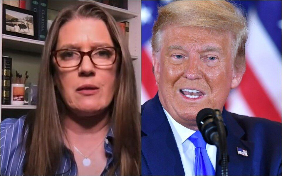 Mary Trump Rips 'Fascist' Uncle, Assumes He Doesn't Even Know What That Means