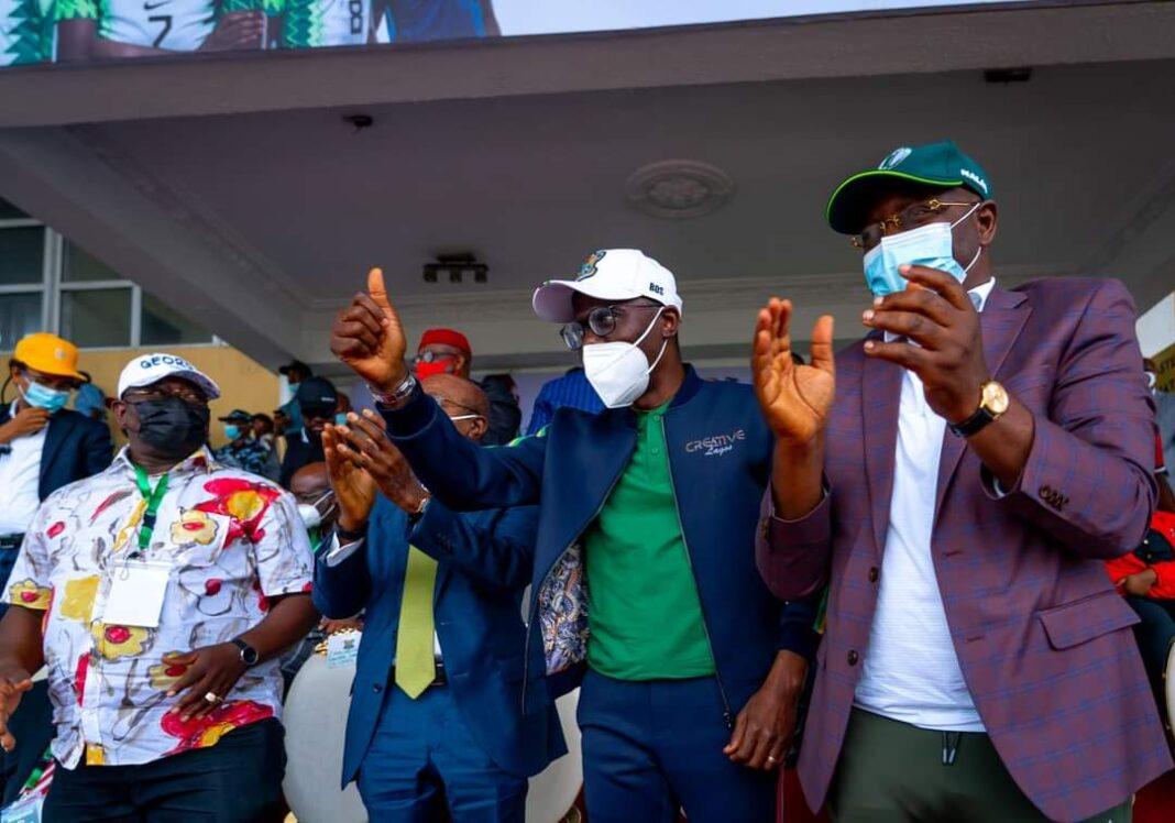 Nigeria vs Liberia: I jumped off my seat Governor Babajide Sanwo-Olu