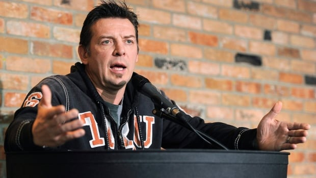 University scolds former NHLer Theo Fleury for 'reprehensible' remarks against vaccine passports