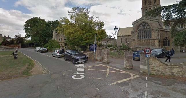 Woman raped in churchyard by stranger