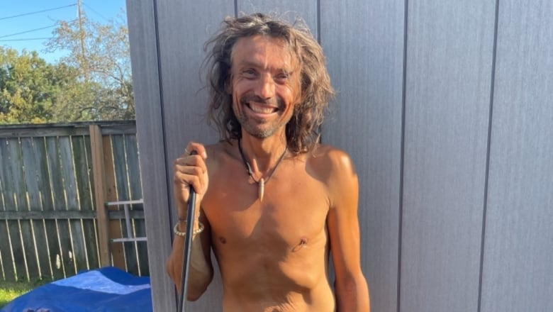 Yes, in my backyard: How a stranger's act of kindness has changed a homeless man's life