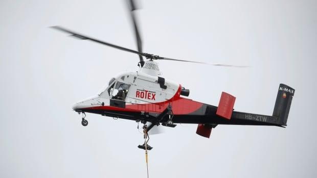 1 dead after logging helicopter crashes on B.C.'s Sunshine Coast