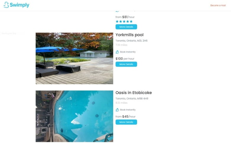 Backyard pool rentals make big splash in Toronto. But it's not going swimmingly for neighbours
