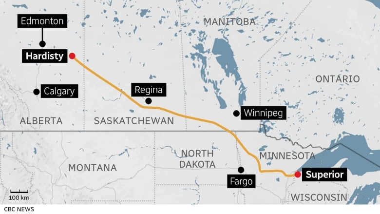 Line 3 did something rare for a pipeline that exports Canadian crude: It got built